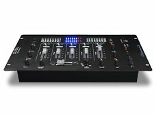Technical Pro Professional 4 Channel Mixer w/USB / SD Card Inputs Black DJ5U New