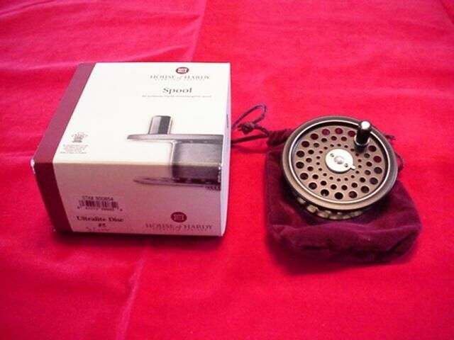 Hardy Ultralight Disc 5 Fly Reel Extra Spool MADE IN ENGLAND GREAT NEW