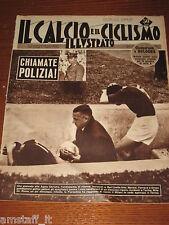 IL CALCIO E CICLISMO ILLUSTRATO 1959/16=INCIDENTI BARI=CAMPIONATO SERIE A=