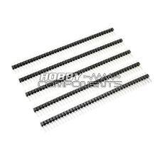 5x Arduino Single Row 40 Way / Pin 2.54mm Pitch Pin Headers
