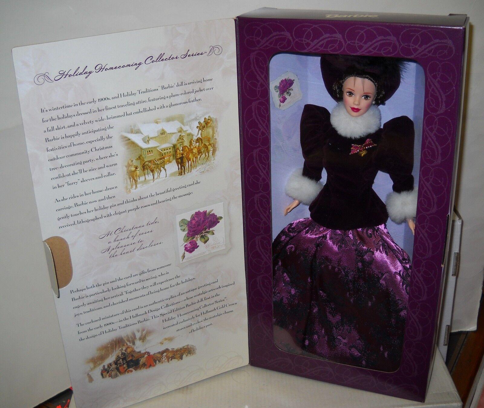 Nunca quitado de la Caja Mattel sello vacaciones regreso a casa vacaciones tradiciones Barbie