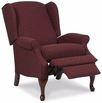 Wingback Red Burgundy Accent Recliner Chairs Armchair