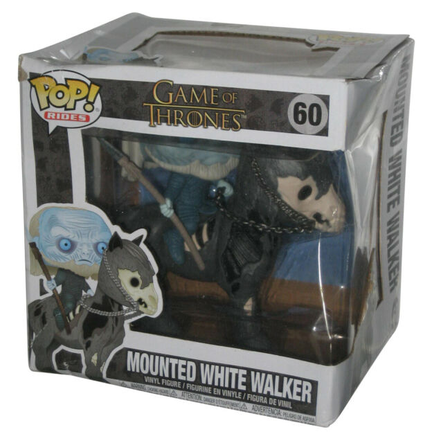 Game of Thrones Mounted White Walker On Horse Funko Pop! Rides Toy Figure