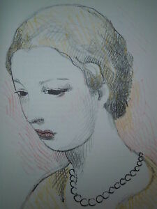 MARIE LAURENCIN 4 LITHOGRAPH LITHOGRAPHIE SKIRA n°58 ART 1937 1/400ex LTD CUBISM