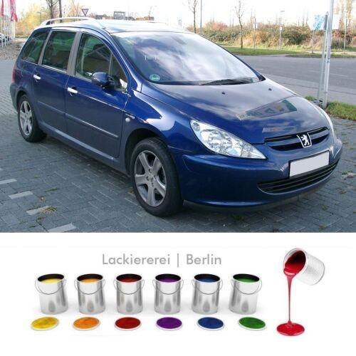 Peugeot 307 2001-2005 Garde-boue avant professionnellement laqué en couleur de votre choix NEUF!
