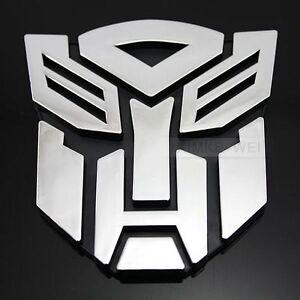 Transformers-Autobot-3D-Logo-Emblem-Badge-Decal-Car-Sticker-New