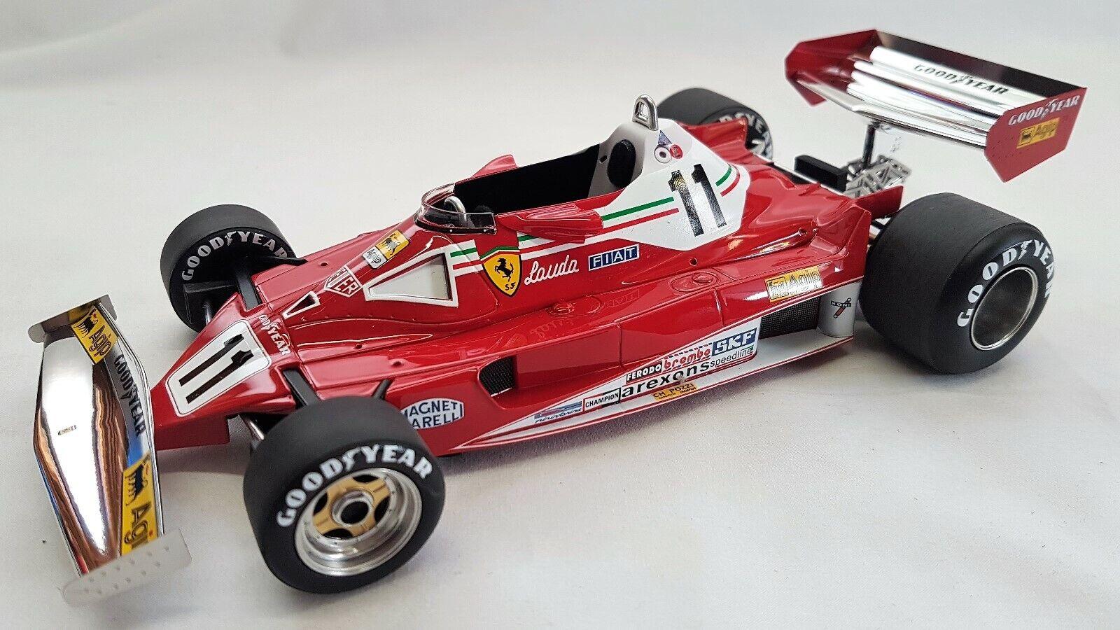 GP réplicas GP14A-Ferrari 312T2 coche Niki Lauda 1977 campeón mundial (F1)