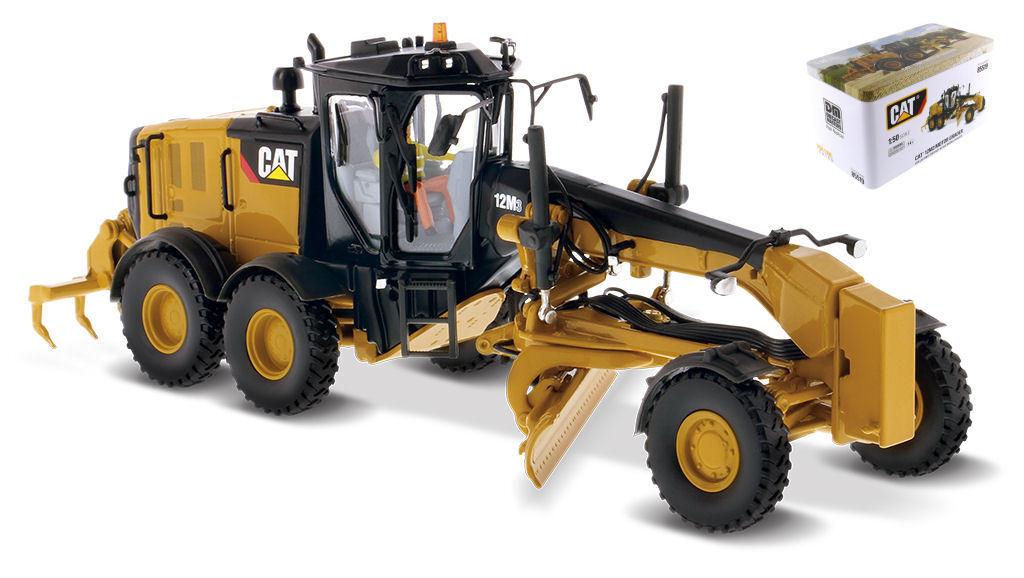 CAT 12M3 Motor Grader 1 50 Model DIECAST MASTERS