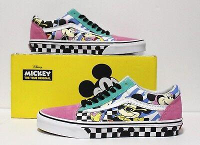 Vans X Disney Old Skool 80's Mickey Mouse Checker Men's Size: 10 (UK 9) EUR 43 | eBay