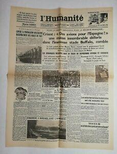 N666-La-Une-Du-Journal-L-039-humanite-26-aout-1936-avions-pour-l-039-Espagne