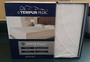 Image Is Loading Tempurpedic Mattress Protector Queen Size