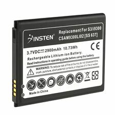 2x 2900 mah Battery Lithium-ion Replacement for Samsung Galaxy SIII S3 S 3 i9300