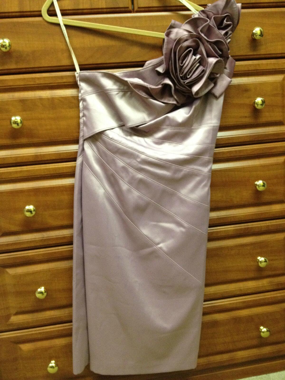 KAREN MILLEN purpleC CORSAGE DRESS US 8