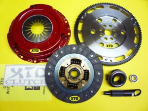XTD STAGE 3 CLUTCH /& 9LBS FLYWHEEL 99-00 CIVIC Si B16A2 DEL SOL
