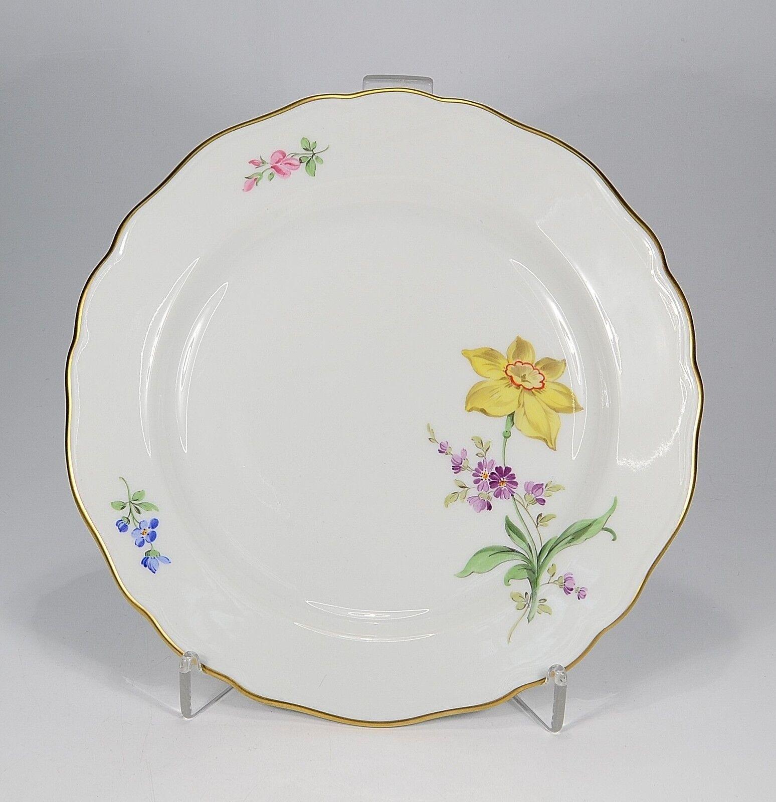 Meissen   Fleur 2 Oblique   Assiette 18 Cm. 1. Choix