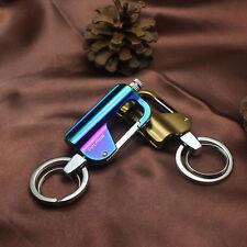 Buckle Waterproof Emergency Matches Kerosene Oil Lighter Flint Keychain Hiking