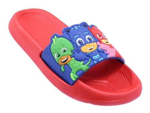PJ Mask little Boys Sandals Flip Flops for children /& kids