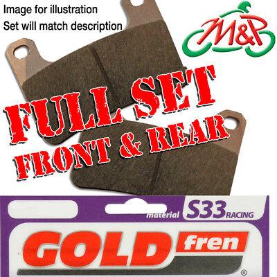 VFR 750 FL FM FN FP FR FS FT FV RC36 1997 Full Set S33 Disc Brake Pads