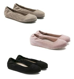 11e9eebebee BIRKENSTOCK CELINA WOMEN S BALLET SHOES ROSE TAUPE BLACK NAVY ...