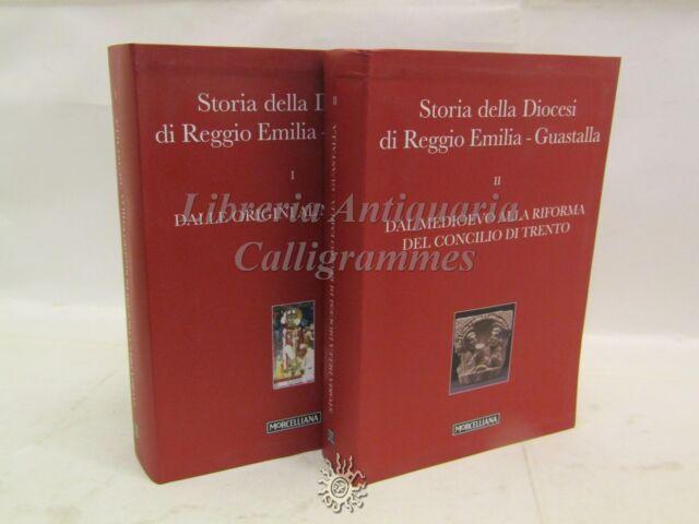 STORIA della Diocesi di REGGIO EMILIA - Guastalla 2 Vol. CD-ROM Morcelliana 2012