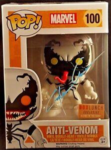 Marvel Comics Funko Pop! Anti-venin # 100 signé par Clayton Crain Spider-Man