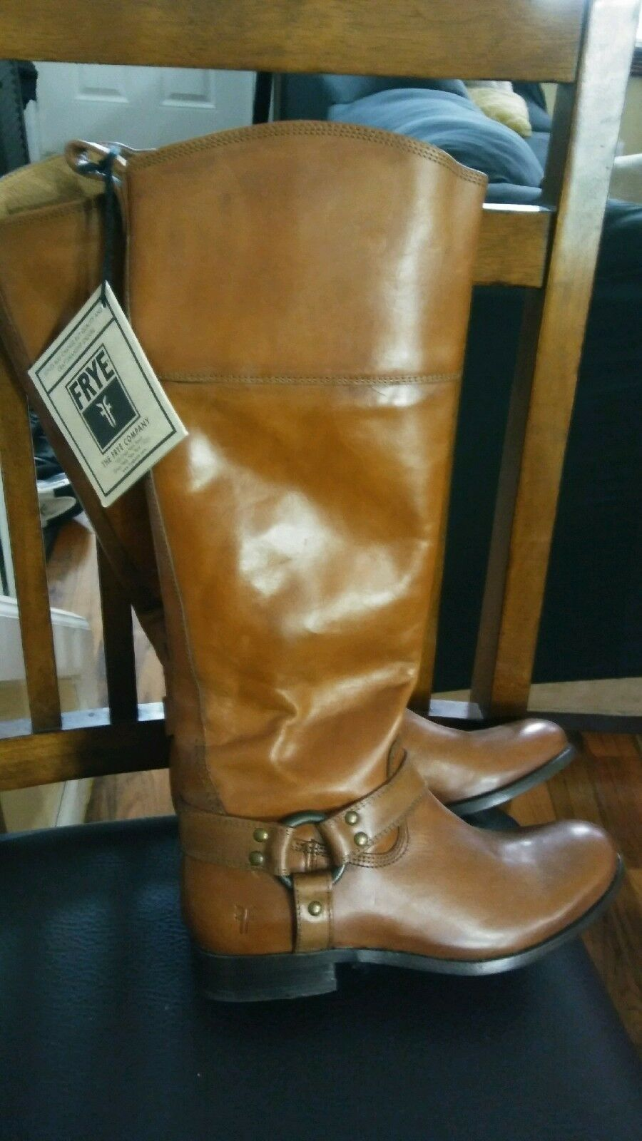 BRAND NEW Marronee FRYE stivali 7 AND HALF donna