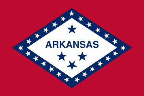 Sticker ** 5 Sizes ** Arkansas Flag Vinyl Decal