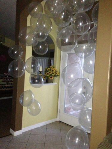 Birthday balloons latex Transparent /& Clear Balloons For Wedding Anniversaries