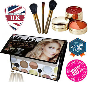 Jerome Alexander Stackables Makeup Eyeshadow Foundation Blush Set