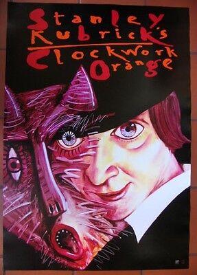 Clockwork Orange - Stanley Kubrick - Polish Poster - Zebrowski