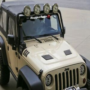 Jeep Wrangler Tj Jk 98-14 New Hood Vent Scoop Black  X 11352.12