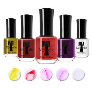 Details About Nee Jolie 7 5ml Watercolor Nail Art Polish Ink Blossom Nail Varnish