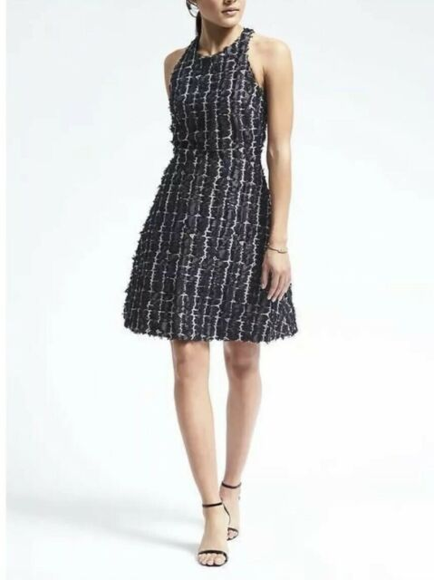 Banana Republic Heritage Collection Fit & Flare Racerback Dress Size 8