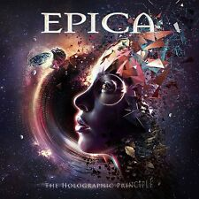 EPICA - THE HOLOGRAPHIC PRINCIPLE LIMITED SIGNED CD ALBUM NEW/ MINT (30TH SEPT)