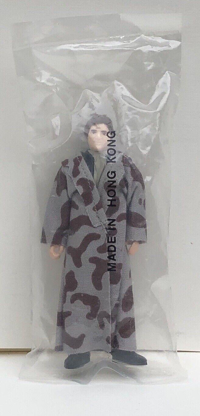 1984 Vintage Star Wars Han Solo Endor Trench Coat Complete Kenner Bag Heat Seal
