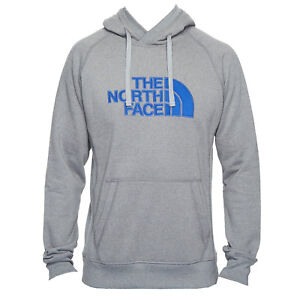 8a16fad83 Details about The North Face Mens Avalon Pullover Hoodie - TNF Medium Grey  Heather / Brit Blue