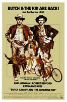 Butch Cassidy And The Sundance Kid Movie Poster 11x17 Mini