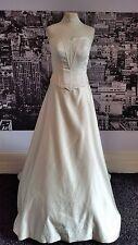 Einfach Atemberaubend Perlen Mieder & Rock mit herrlichen Schleppe, Hochzeit