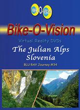 Bike-O-Vision - Virtual Cycling Adventure- The Julian Alps Slovenia - Widescreen