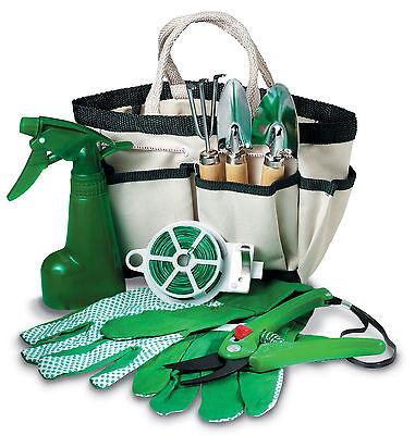 Mini GARDENING TOOLS SET   gift present indoor outdoor kit box plant trimmer