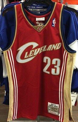 size 40 821d0 efce6 Lebron James 2003-04 Jersey Cleveland Cavaliers NBA Basketball Mitchell  Ness S | eBay