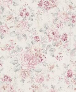 Vliestapete-Blumen-Landhaus-rose-516029-Rasch-Pure-Vintage-2-68-1qm
