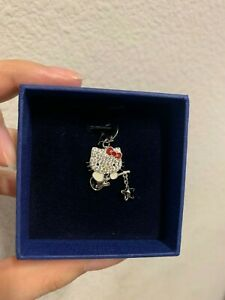 NIB-SWAROVSKI-HELLO-KITTY-034-GUITAR-034-CHARM-1161307