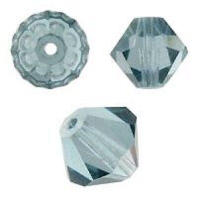 144 PCS Tanzanite Color Swarovski Crystal Bicone Approx 5328 4mm