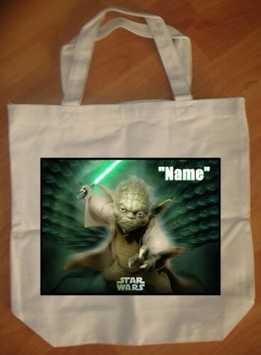 """Yoda/"""" Personalized Tote Bag NEW /""""Star Wars"""