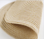 2pcs Round Weave Placemat Kitchen Dining Table Mat Heat Insulation Pad