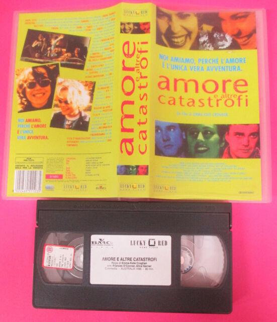 VHS film AMORE E ALTRE CATASTROFI 1996 Alice Garner LUCKY RED (F122) no dvd