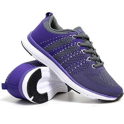 Señoras corriendo formadores Para Mujer fiitness de espuma con memoria Gimnasio caminar Calzado Deportivo siz