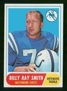 BILLY RAY SMITH 1968 TOPPS 68 NO 22 VGEX  37089