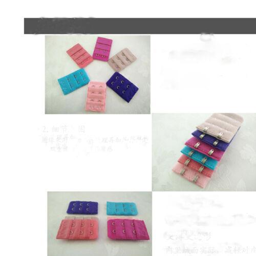 5 Stück Bra Extender Strap Extension 2 Haken 6 Farben Intimates Zubehör